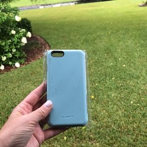 Clarity brand Sea foam iPhone case. iPhone 7